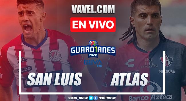 Atlético de San Luis 1-1 Atlas: Goles y resumen de Liga MX 2020