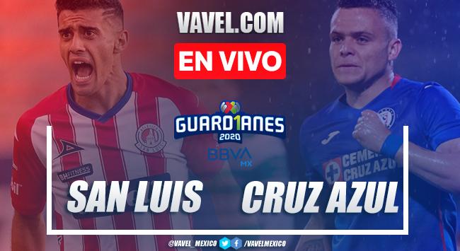 Goles y resumen: San Luis 1-3 Cruz Azul en Liga MX 2020