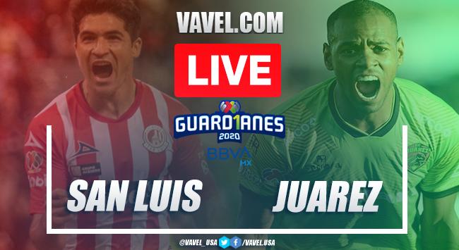Goals and Highlights: Atlético de San Luis 1-1 FC Juárez in 2020 Liga MX