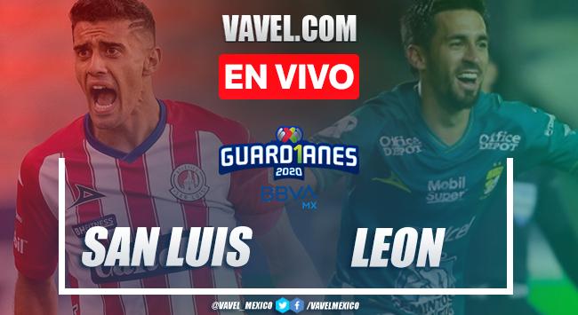 Atlético de San Luis vs León en vivo cómo ver transmisión TV online en Liga MX 2020 (0-0)