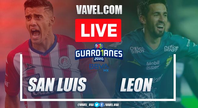 Goals and highlights: Atlético San Luis 0-2 León in 2020 Liga MX Guard1anes