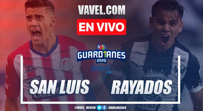 San Luis 1-2 Monterrey: goles y resumen Liga MX 2020
