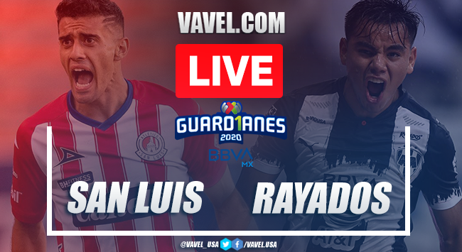 Goals and Highlights: San Luis 1-2 Rayados Monterrey, 2020 Liga MX