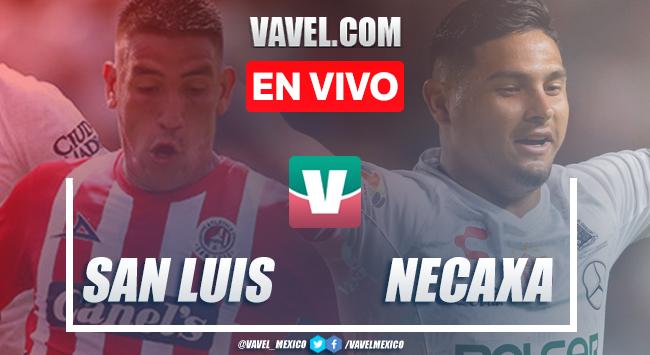 Resumen y video goles Atlético de San Luis 0-2 Necaxa en Liga MX Apertura 2019