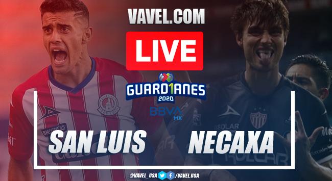 Goals and Highlights Atlético San Luis 2-1 Necaxa,Guard1anes 2020 Liga MX