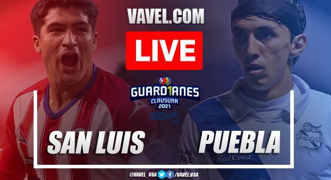 Goals and Highlights Atletico San Luis 1-4 Puebla, 2021 Liga MX