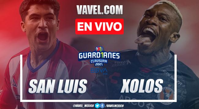 Goles y Resumen del Atlético San Luis 2-2 Xolos Jornada 5 del Guard1anes 2021