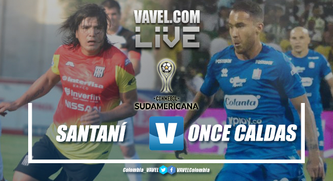 Deportivo Santaní vs Once Caldas EN VIVO online por la Copa Sudamericana 2019