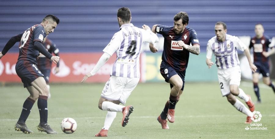 SD Eibar vs Real Valladolid en directo online en LaLiga Santander 2019 (1-2)
