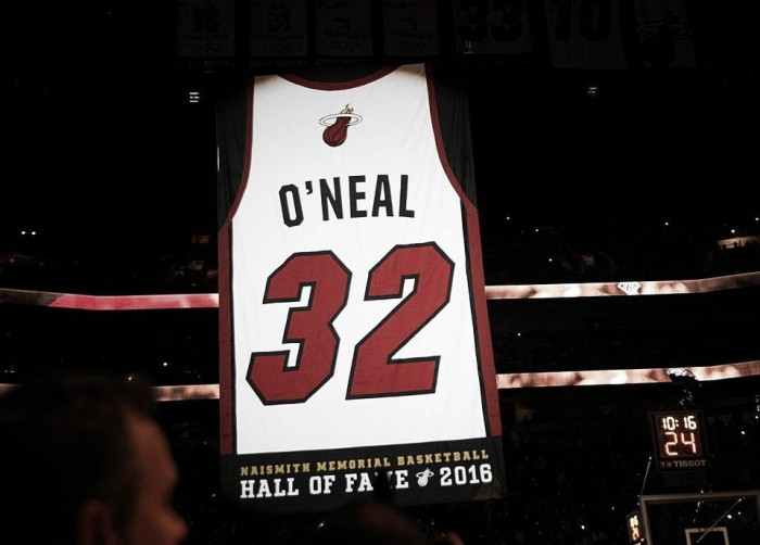 Nba, i Miami Heat ritirano la maglia di Shaquille O'Neal