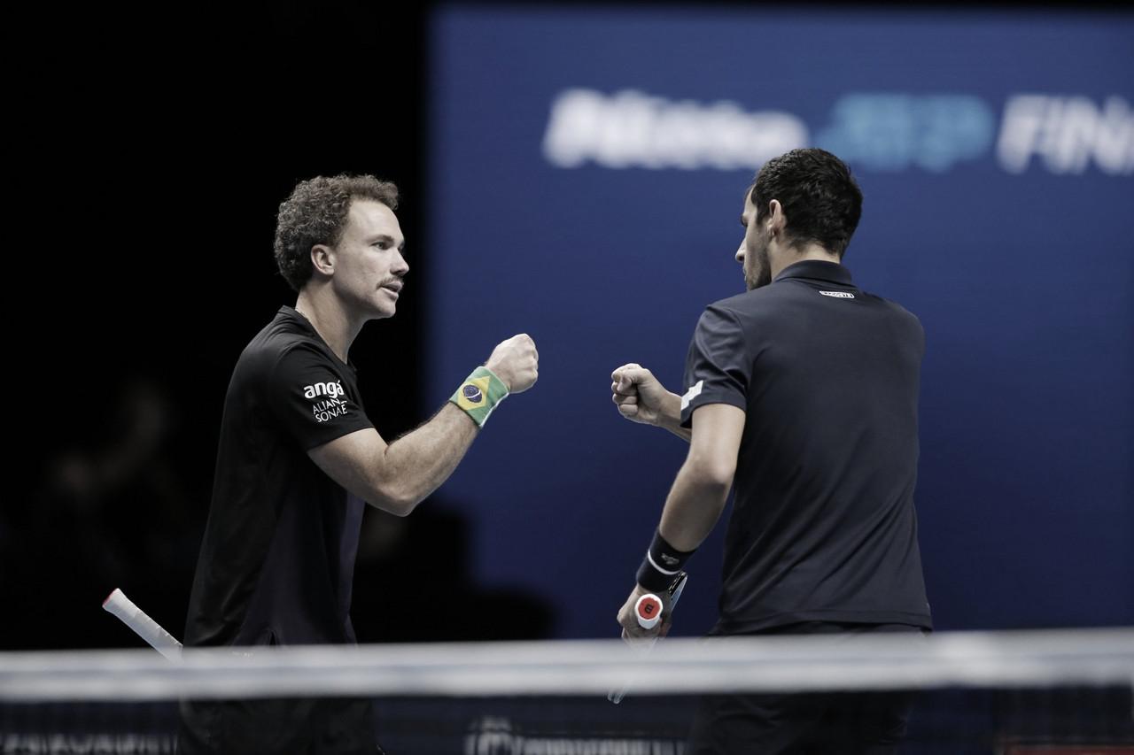 Pavic/Soares venceram Peers/Venus no ATP Finals 2020 (ATP/Divulgação)