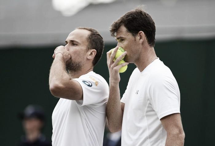 Bruno Soares e Jamie Murray vencem Delbonis/ Schwartzman e avançam em Wimbledon