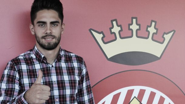 Rubén Sobrino ya es nuevo jugador del Girona
