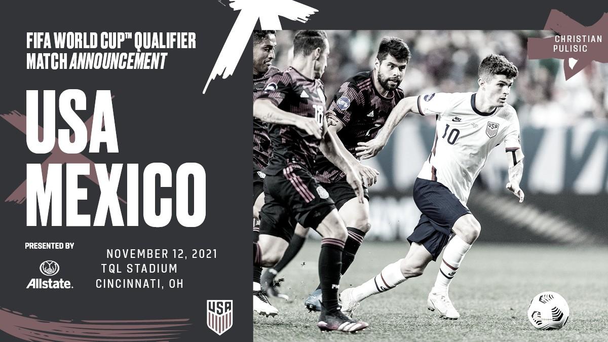 Estados Unidos jugará la Clasificación de la CONCACAF 2022 en Cincinnati