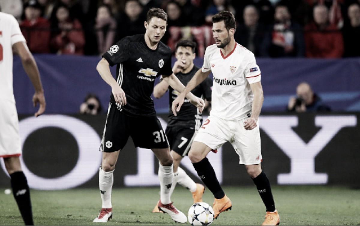 Em confronto empatado, Manchester United e Sevilla duelam pela vaga às quartas