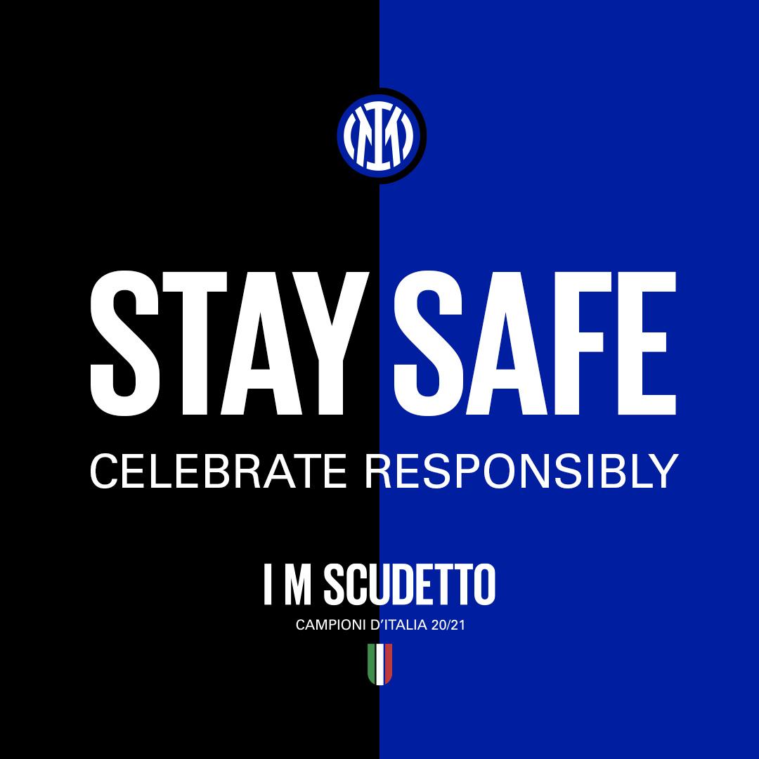 El Inter pide prudencia ante la celebración del Scudetto