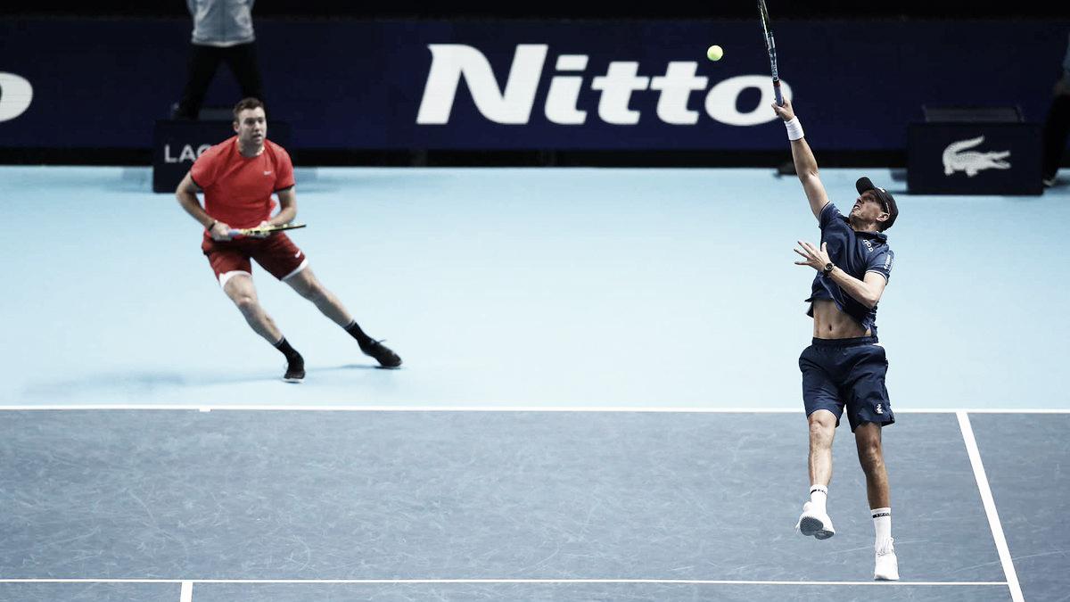 Kubot/Melo caem no ATP Finals em jogo equilibrado contra Bryan/Sock