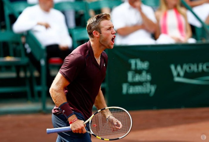 ATP Houston: Jack Sock Tops John Isner in All-American Semifinal