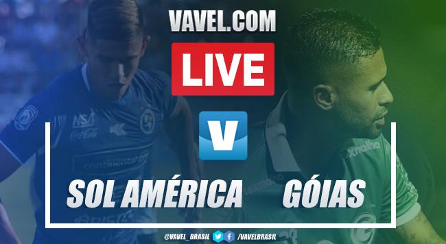Gol e melhores momentos Sol de América 1x0 Goiás pela Copa Sul-Americana 2020