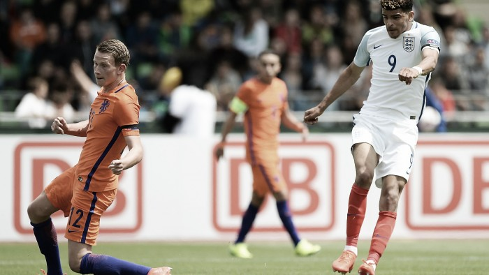 Netherlands U19 1-2 England U19: Substitute Brown sends Young Lions to semi-final
