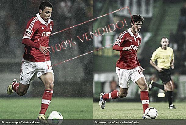 Benfica encaixa 45 milhões com a venda dos passes de Rodrigo e André Gomes