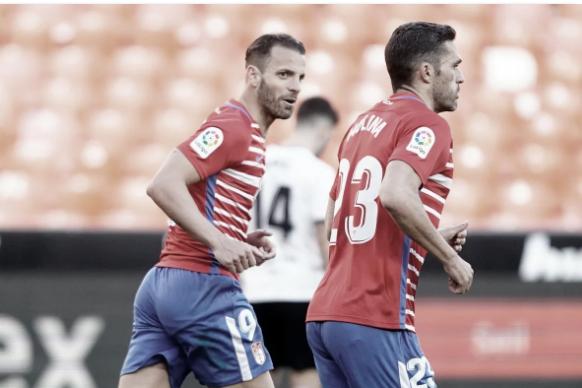 Valencia CF-Granada CF: puntuaciones del Granada, jornada 28 de LaLiga