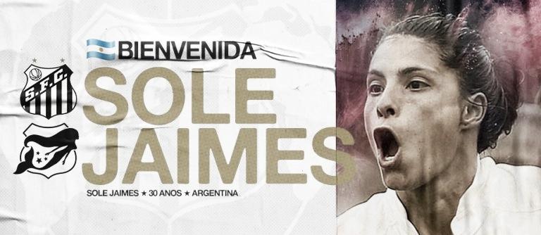Santos acerta o retorno de Sole Jaimes para o time feminino