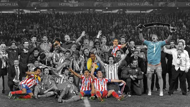 Sólo cinco jugadores del Atlético repiten final de Europa League