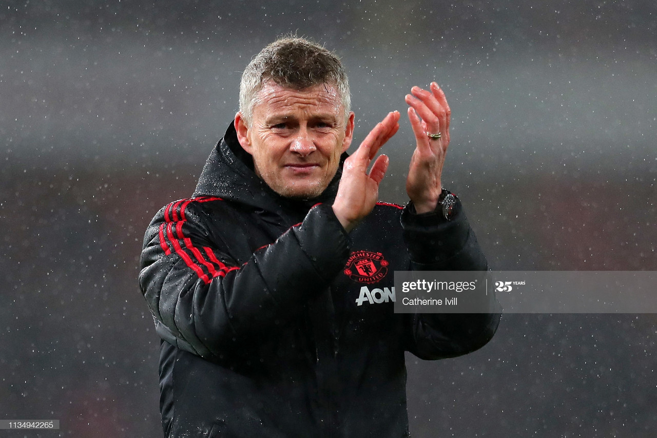 How does Solskjaer navigate Man United through four crucial weeks and three competitions?