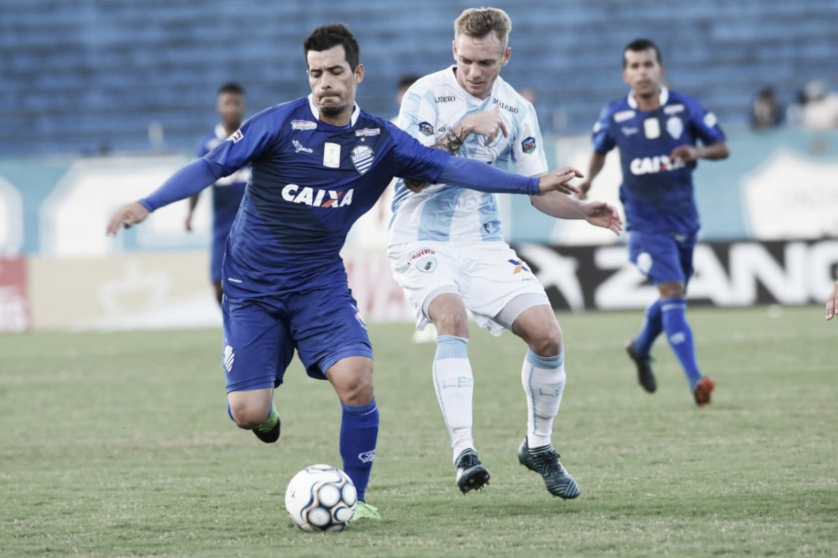 Eficiente nas finalizações, CSA supera Londrina fora de casa e assume vice-liderança da Série B
