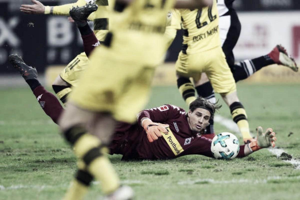 """Goleiro do Gladbach, Sommer lamenta chances perdidas: """"A bola não queria entrar"""""""