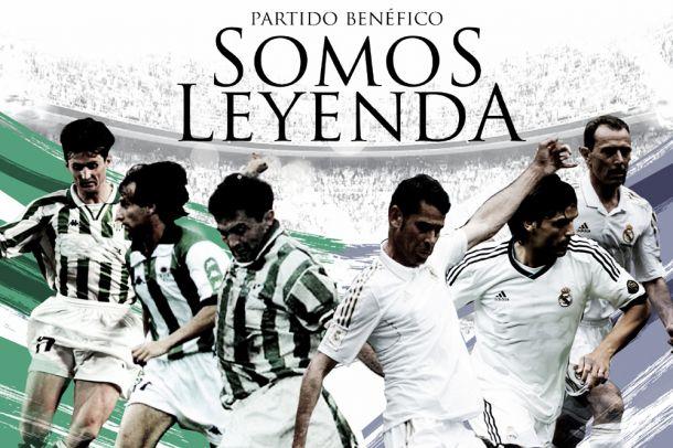 Resultado Real Betis - Real Madrid, 'Somos Leyenda' encuentro amistoso 2013 (2-3)