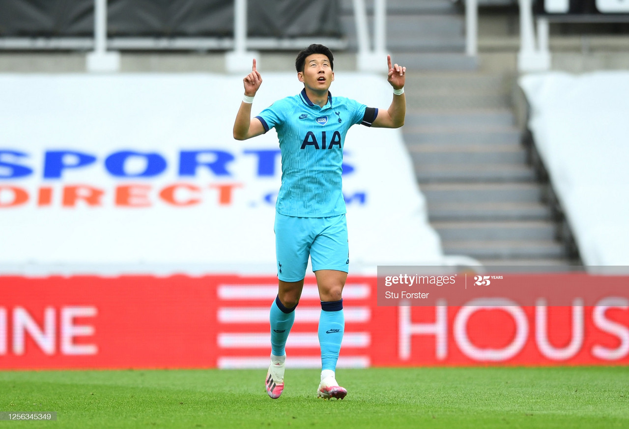 Newcastle United 1-3 Tottenham Hotspur: Son and Kane sink Magpies to keep Spurs' European hopes alive
