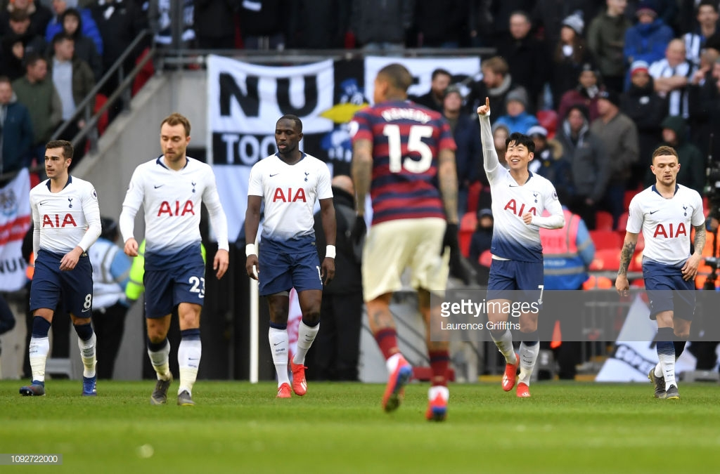 Tottenham Hotspur 1-0 Newcastle United: Son steals the show as Spurs move second