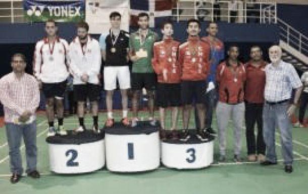 México hace el uno dos de bádminton en el Santo Domingo Open 2015