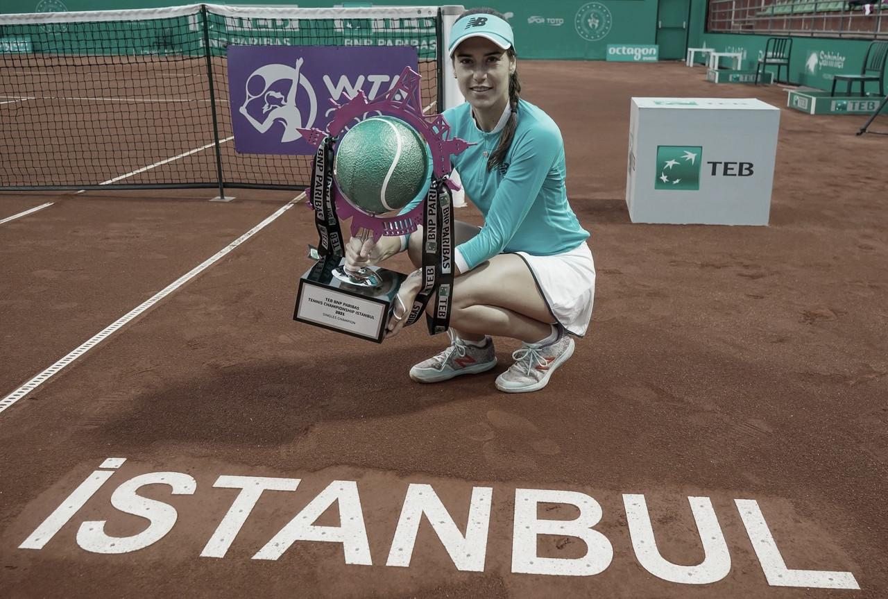 Cirstea arremetió con todo y es la campeona de Estambul