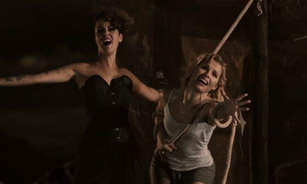 Soraya y Vega juntas en 'El huracán'