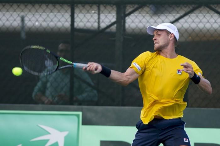 Sorgi vira contra dominicano e classifica Brasil na Copa Davis