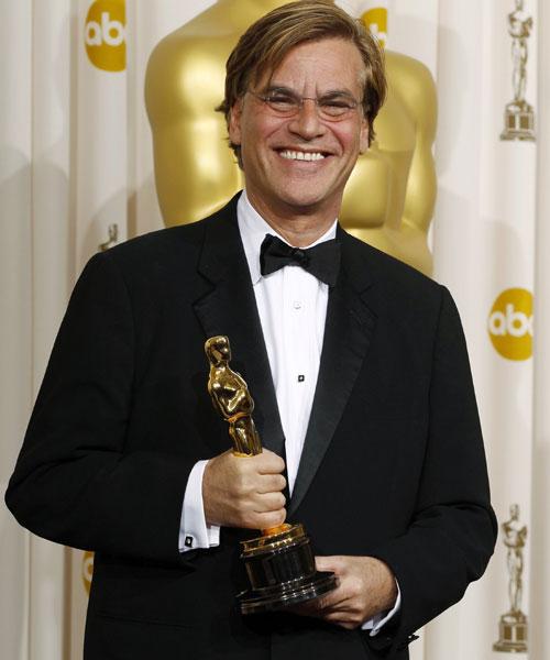 El oscarizado Aaron Sorkin, guionista de la biopic de Steve Jobs