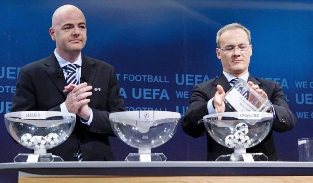 Oggi sorteggi di Champions, la Juve rischia