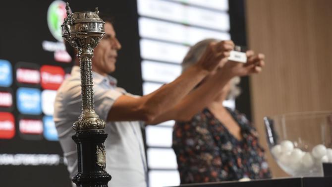 Os adversários dos três grandes na Taça de Portugal