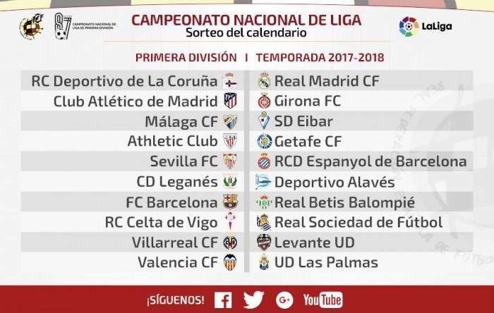 El Girona debutará ante el Atlético de Madrid