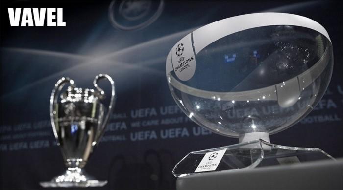 Sorteo de los octavos de final de la UEFA Champions League 2017/18 en directo