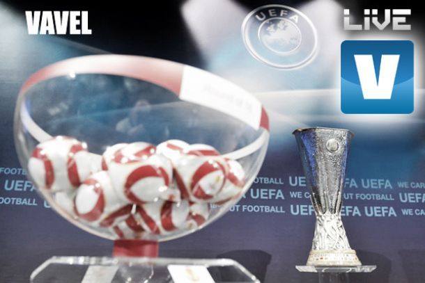 Sorteio da fase eliminatória da UEFA Europa League 2013/2014, directo