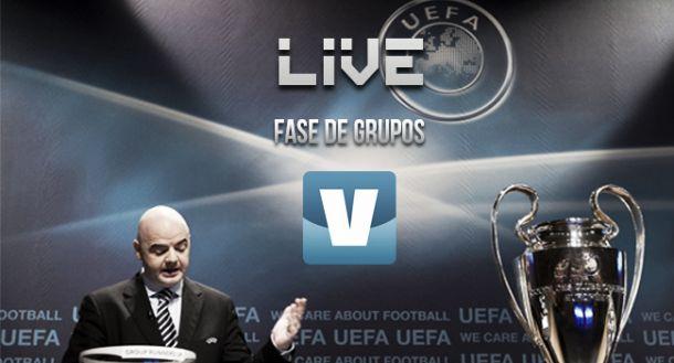 Resultado sorteo fase de grupos Champions League 2015/2016