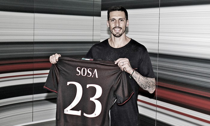 """UFFICIALE: Milan, ecco Sosa: """"Qui per portare esperienza, sento la responsabilità della maglia"""""""