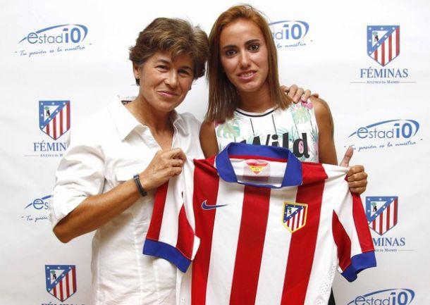Ángela Sosa, talento a raudales para el Atlético