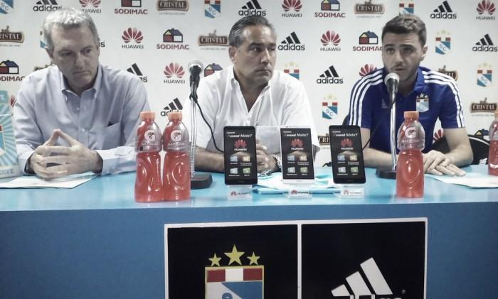 Mariano Soso fue presentado como nuevo director técnico de Sporting Cristal