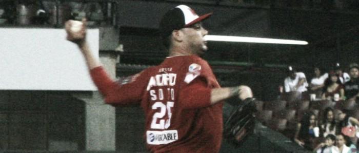 Alejandro Soto es el líder de pitcheo de la temporada regular