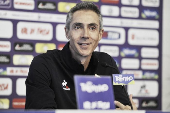 """Fiorentina, Sousa: """"Voglio vedere la stessa fame che avrà anche il Crotone"""""""